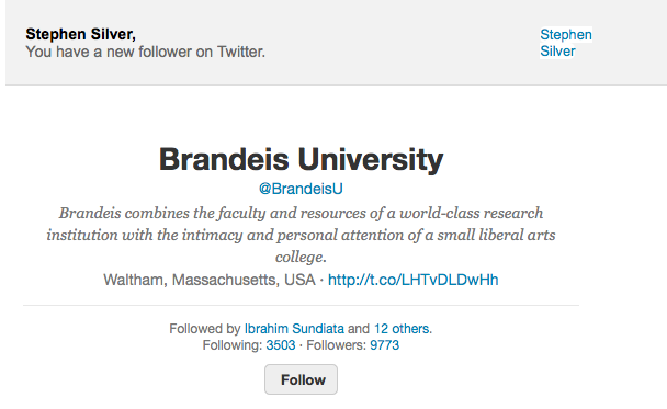 Brandeis follow